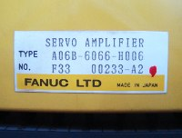 4 TYPENSCHILD A06B-6066-H006