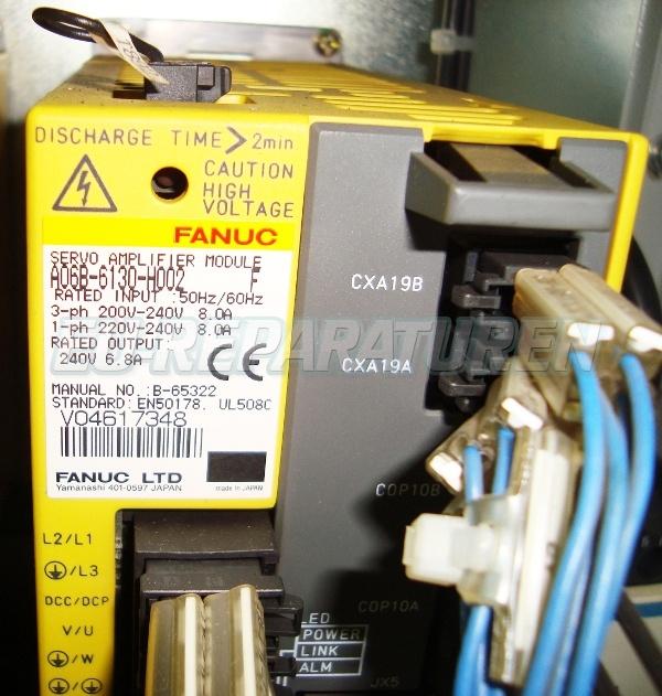 SERVICE FANUC A06B-6130-H002 AC DRIVE