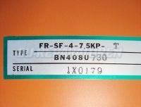9 FR-SF-4-7.5KP TYPENSCHILD MITSUBISHI