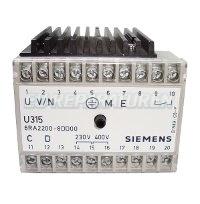 SIEMENS U315 FIELD SUPPLY UNIT 6RA2200-8DD00-1