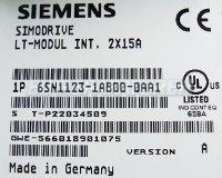 TYPENSCHILD 6SN1123-1AB00-0AA1 SIEMENS