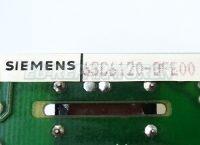 2 TYPENSCHILD 6SC6120-0FE00 SIEMENS