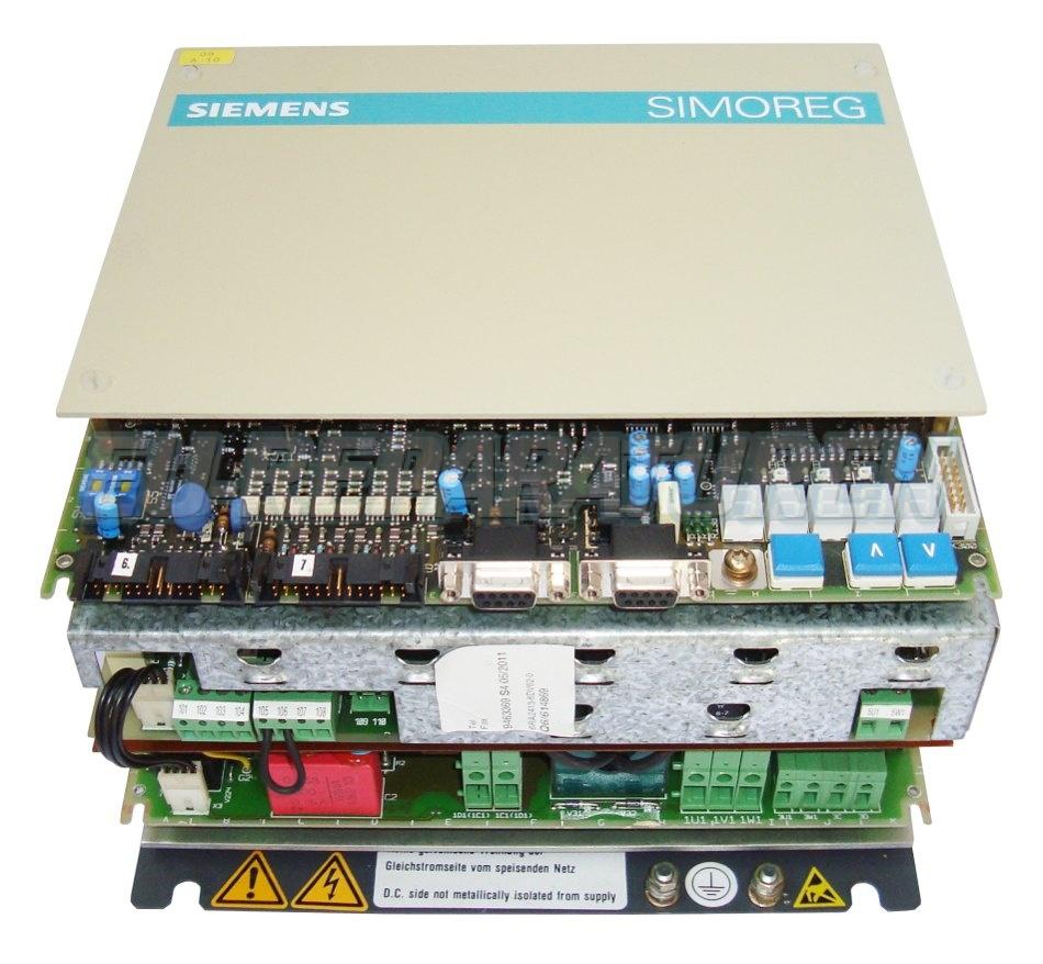 SERVICE SIEMENS 6RA2413-6DV62-0 DC DRIVE