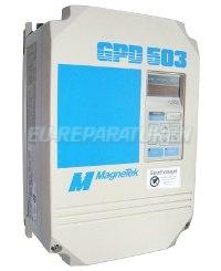 Weiter zum Reparatur-Service: MAGNETEK DS308 FREQUENZUMRICHTER
