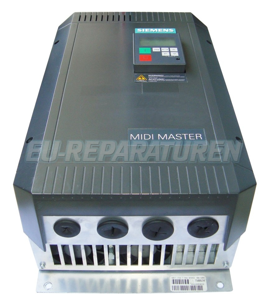 REPARATUR SIEMENS 6SE3121-7DC40 AC DRIVE