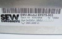 5 TYPENSCHILD SEW EF075-503 EMV-MODUL