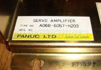 4 TYPENSCHILD FANUC A06B-6057-H203