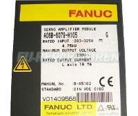4 TYPENSCHILD FANUC A06B-6079-H105