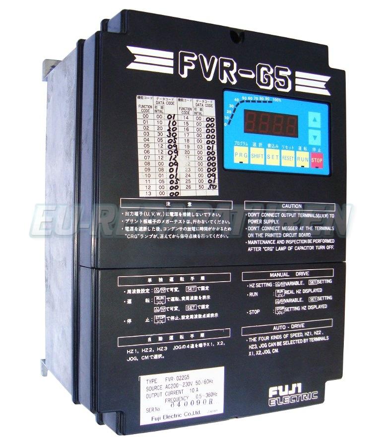 SERVICE FUJI ELECTRIC FVR-022G5 AC DRIVE