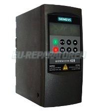 1 SIEMENS REPARATUR 6SE6420-2UD15-5AA1 MICROMASTER-420