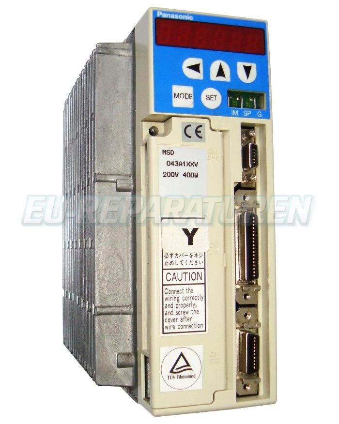 SERVICE PANASONIC MSD043A1XXV AC DRIVE