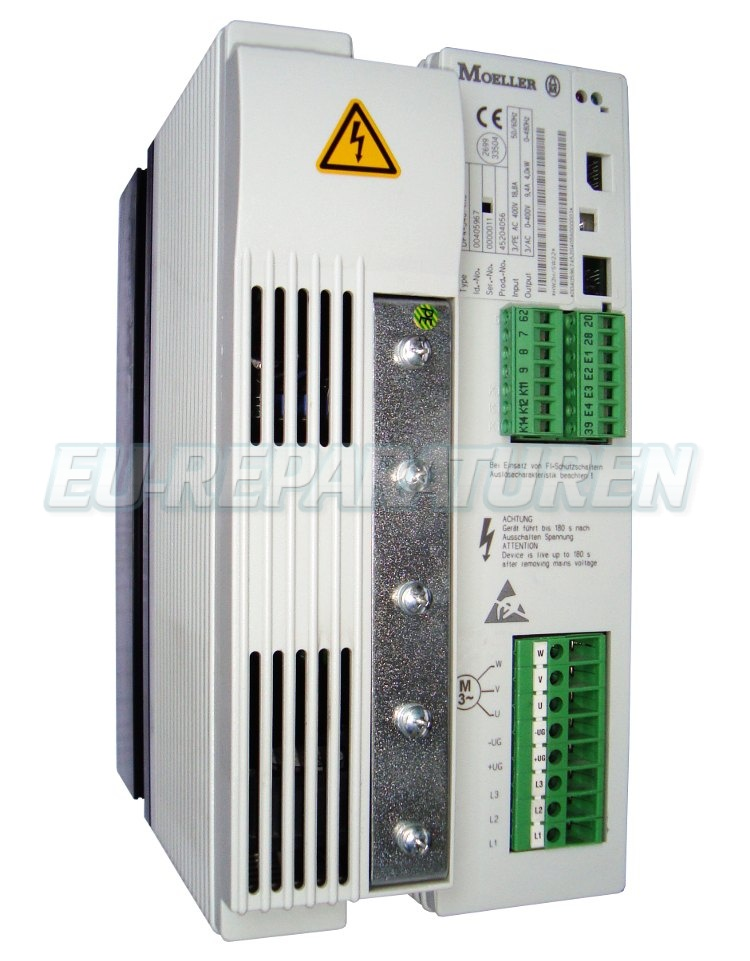 SERVICE MOELLER DF4-340-4K0 AC DRIVE