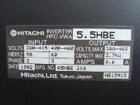 4 TYPENSCHILD HFC-VWA5.5HBE