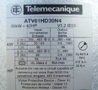4 TYPENSCHILD ATV61HD30N4