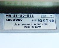 4 TYPENSCHILD MR-S1-80-E31