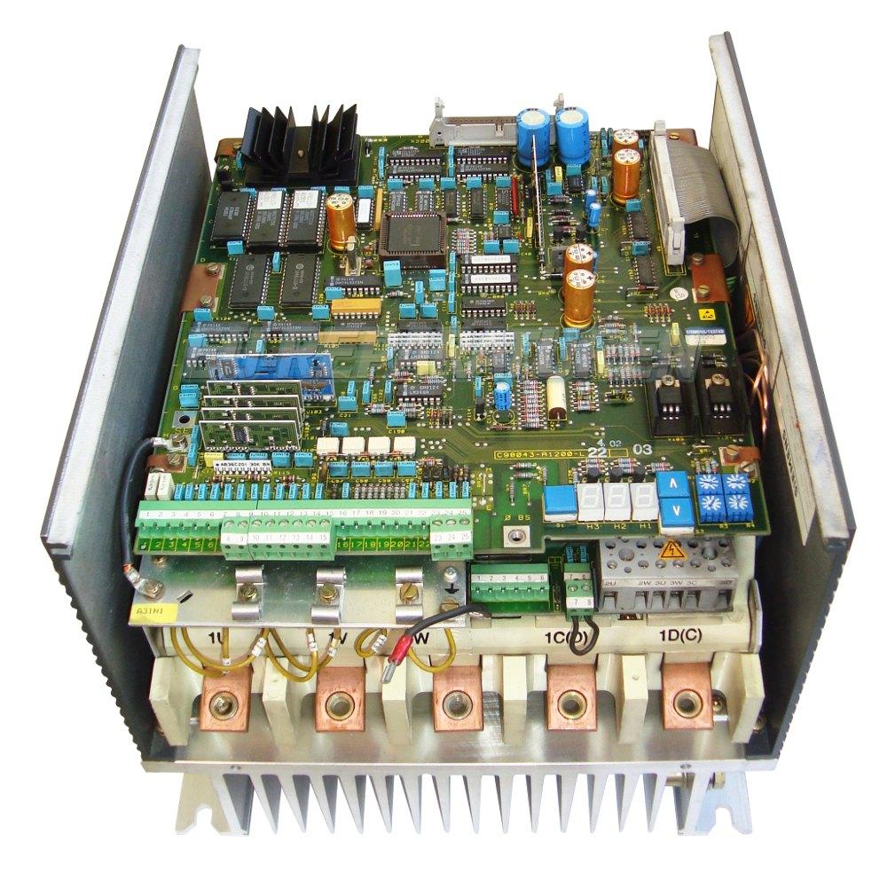 SERVICE SIEMENS 6RA2232-6DV62-0 DC DRIVE