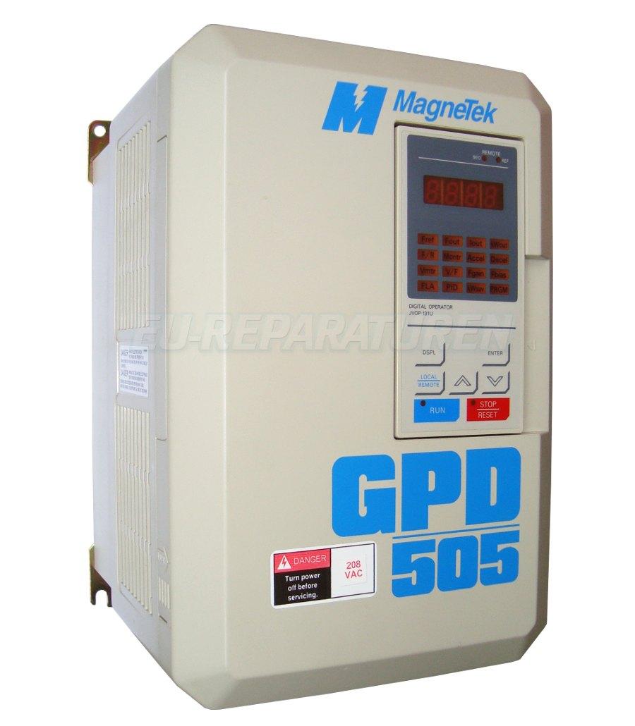 REPARATUR MAGNETEK GPD505V-A027 AC DRIVE