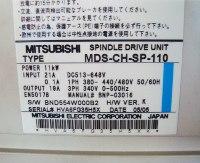 4 TYPENSCHILD MITSUBISHI MDS-CH-SP-110