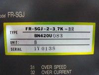 4 TYPENSCHILD FR-SGJ-2-3.7K-BR