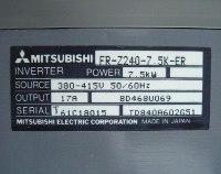 4 TYPENSCHILD FR-Z240-7.5K-ER