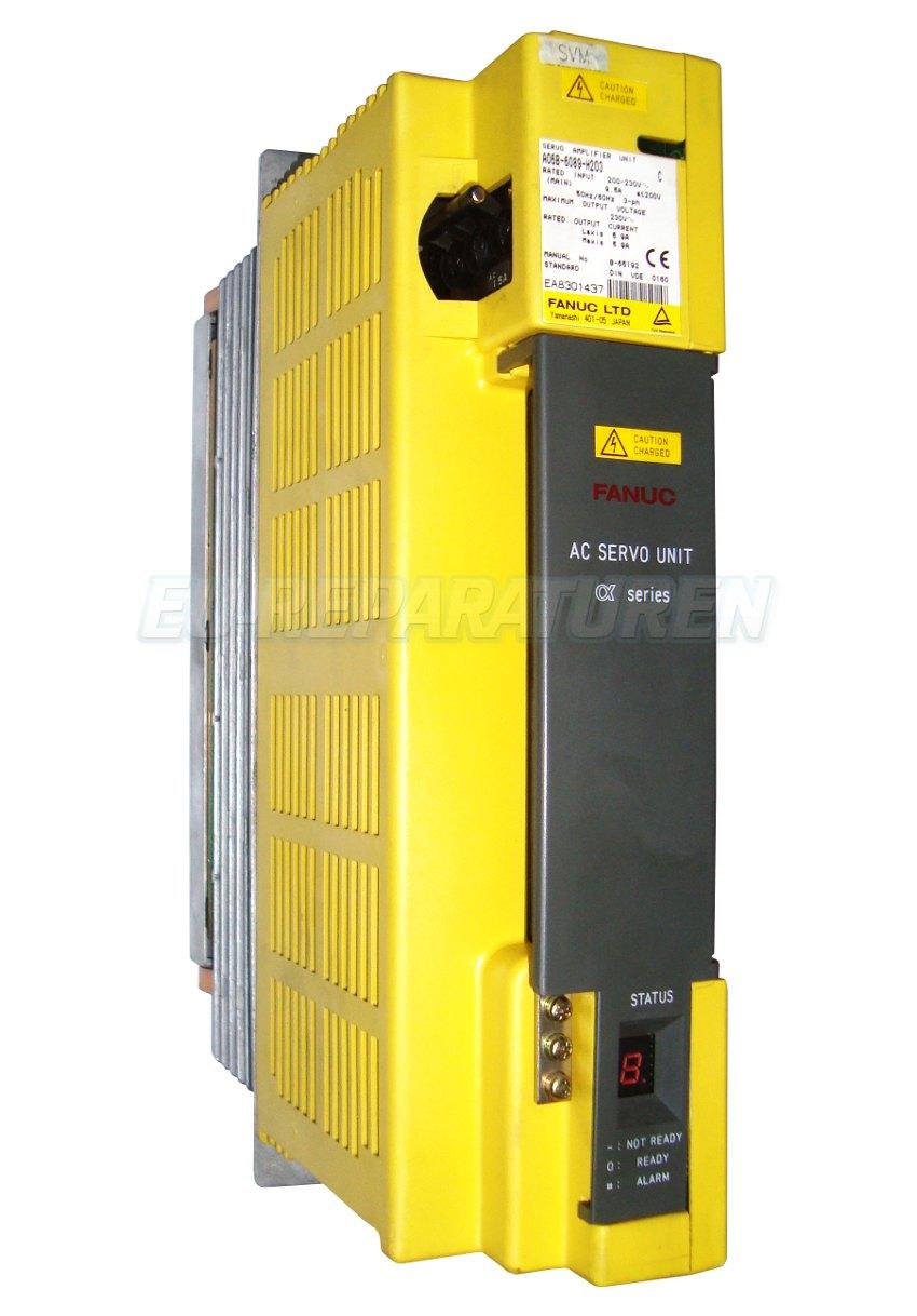 SERVICE FANUC A06B-6089-H203 AC DRIVE