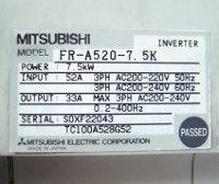4 TYPENSCHILD FR-A520-7.5K