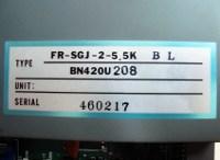 4 TYPENSCHILD FR-SGJ-2-5.5K-BL