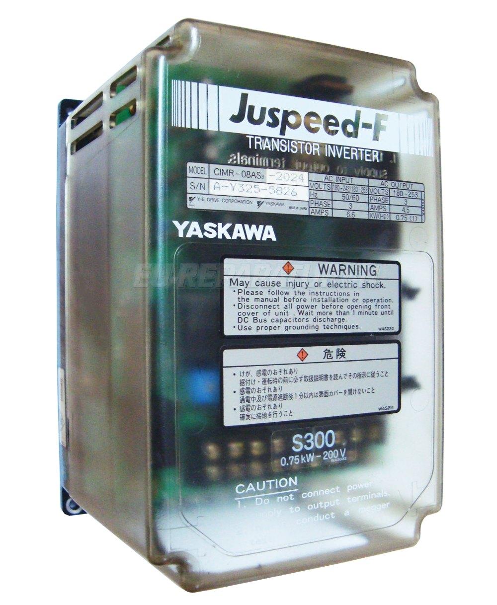 SERVICE YASKAWA CIMR-08AS3-2024 AC DRIVE