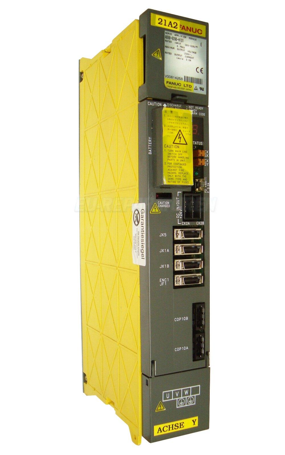 SERVICE FANUC A06B-6096-H101 AC DRIVE