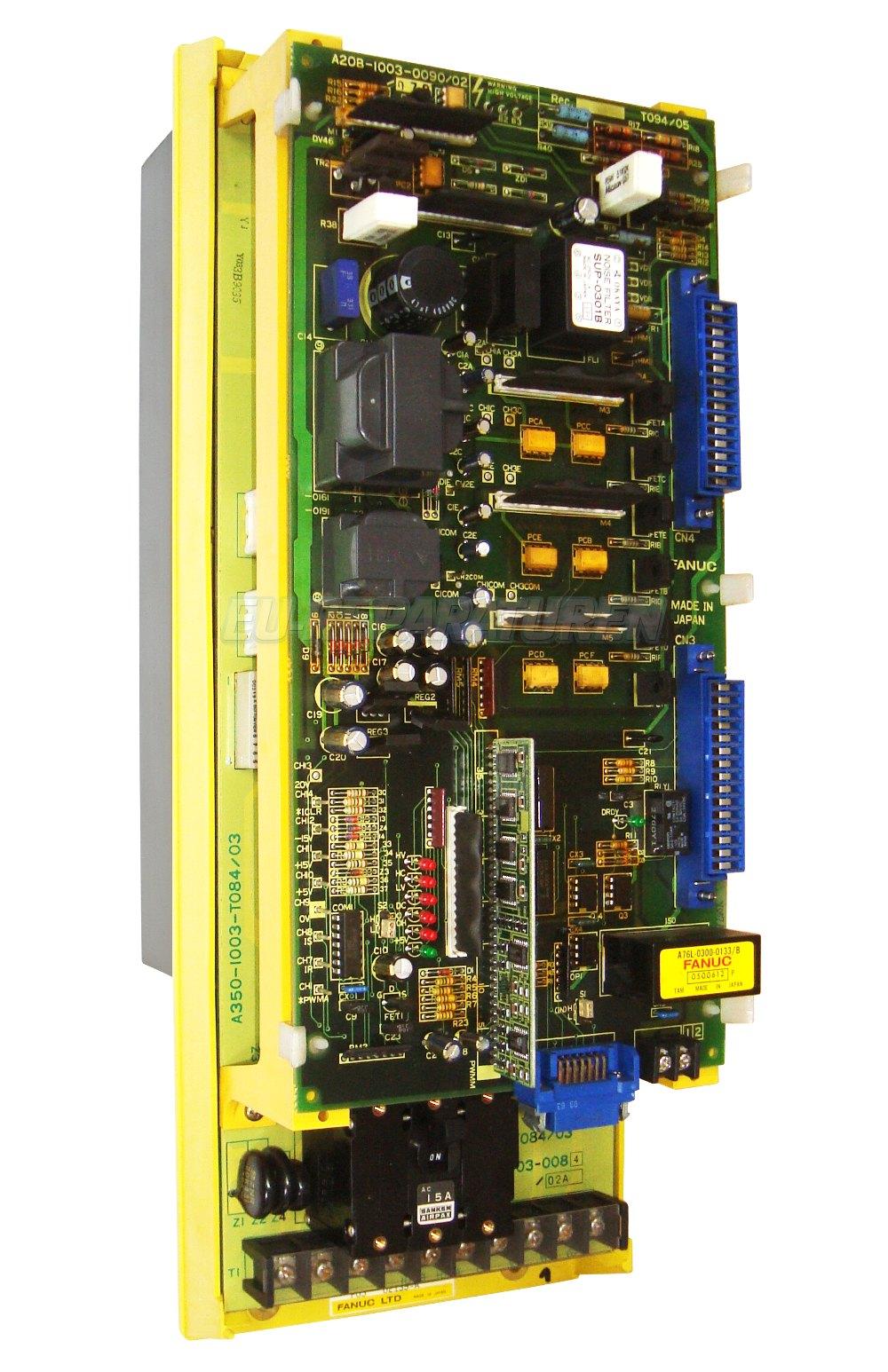 SERVICE FANUC A06B-6058-H025 AC DRIVE