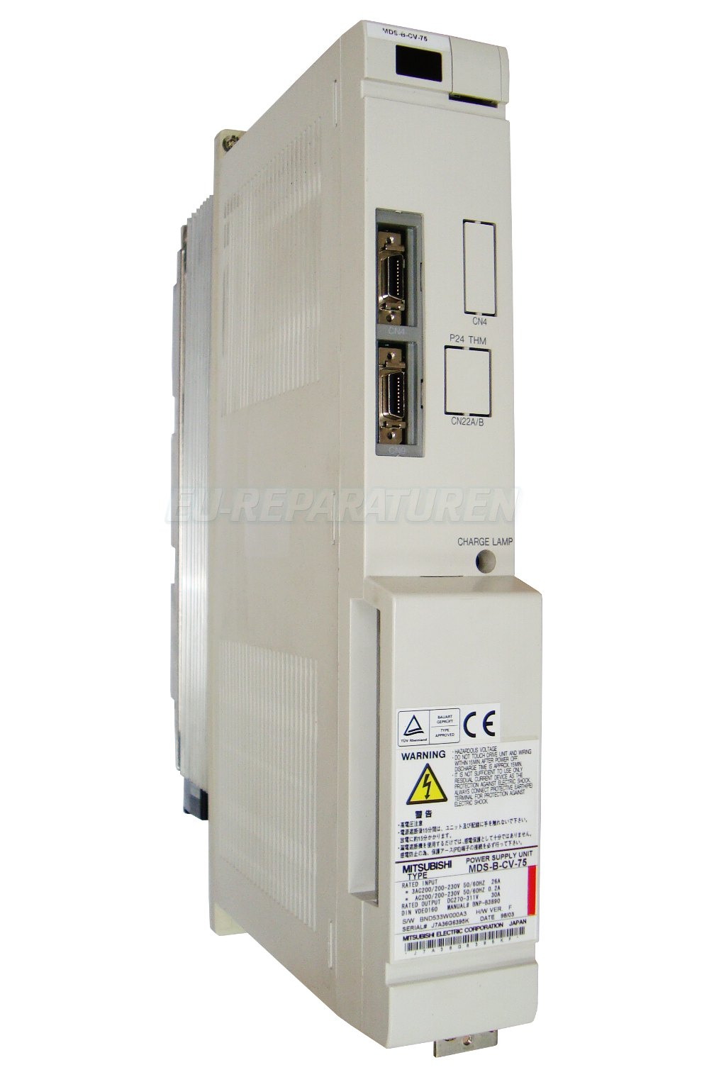 REPARATUR MITSUBISHI MDS-B-CV-75 POWER SUPPLY