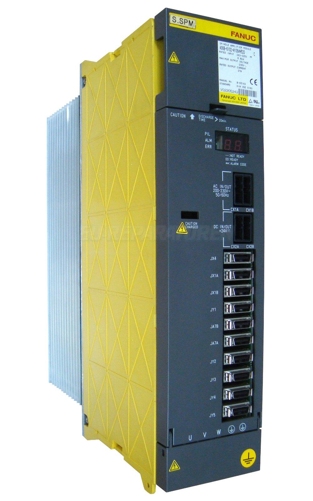 SERVICE FANUC A06B-6102-H106 AC DRIVE