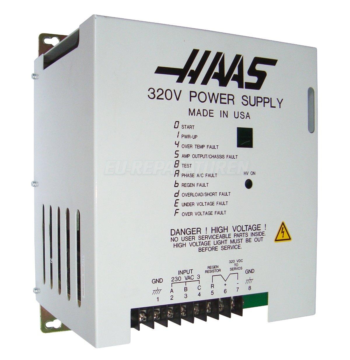 SERVICE HAAS 69-2000 AC DRIVE