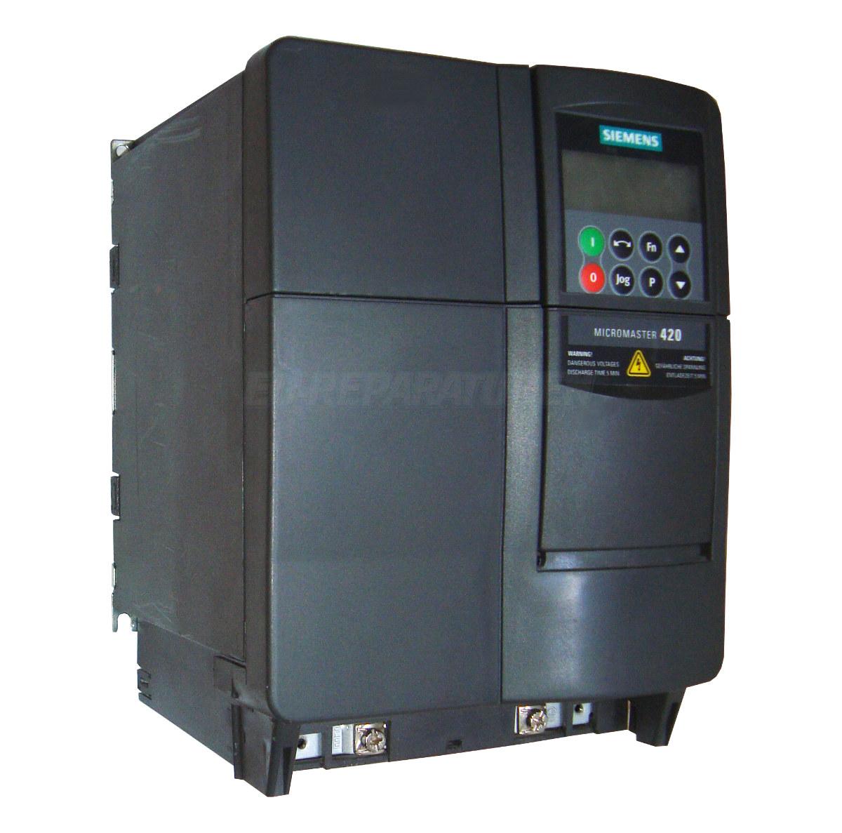 SERVICE SIEMENS 6SE6420-2AD31-1CA1 AC DRIVE