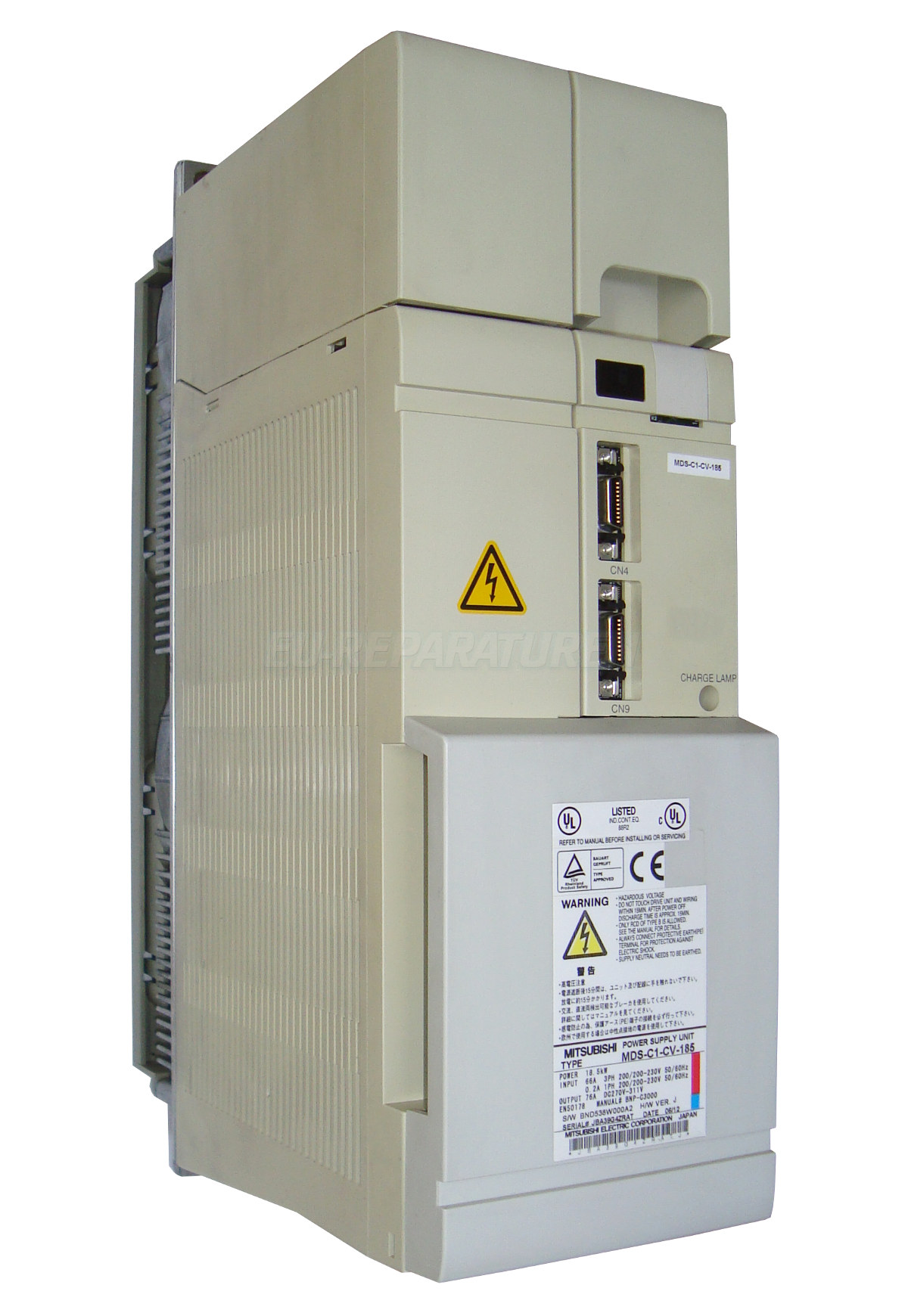 SERVICE MITSUBISHI MDS-C1-CV-185 POWER SUPPLY