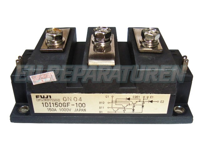 Weiter zum Artikel: FUJI ELECTRIC 1DI150GF-100 TRANSISTOR MODULE