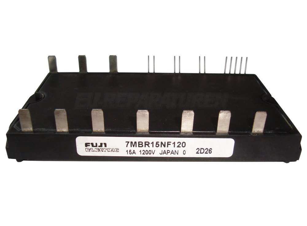 Weiter zum Artikel: FUJI ELECTRIC 7MBR15NF120 TRANSISTOR MODULE