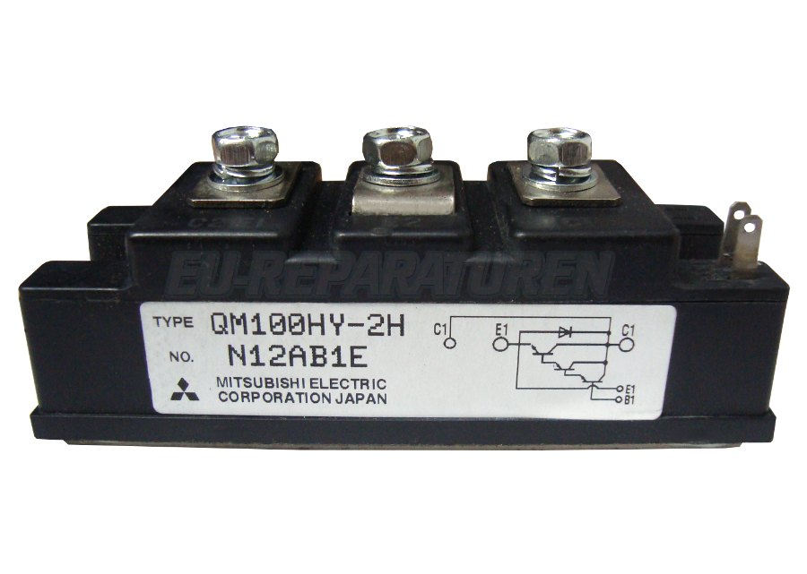 SHOP, Kaufen: MITSUBISHI ELECTRIC QM100HY-2H TRANSISTOR MODULE