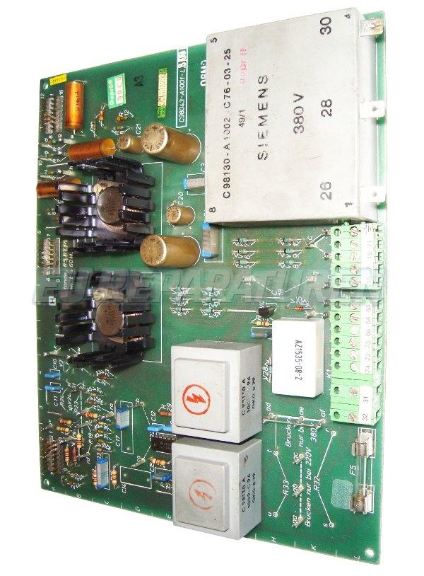 Weiter zum Artikel: SIEMENS C98043-A1001-L809 BOARD
