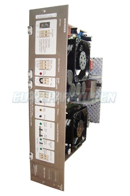 VORSCHAU: SIEMENS 6ES5955-3LF12 POWER SUPPLY