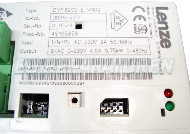 SHOP, Kaufen: LENZE EVF8202-E-V002 FREQUENZUMFORMER