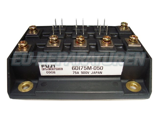 Weiter zum Artikel: FUJI ELECTRIC 6DI75M-050 TRANSISTOR MODULE