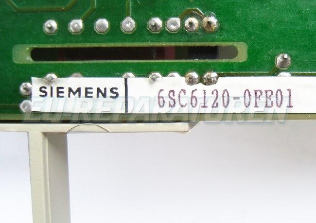 SHOP, Kaufen: SIEMENS 6SC6120-0FE01 BOARD