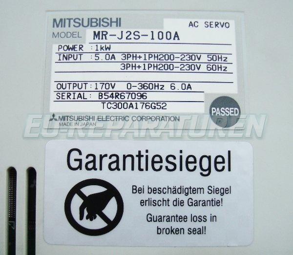 SHOP, Kaufen: MITSUBISHI ELECTRIC MR-J2S-100A FREQUENZUMFORMER