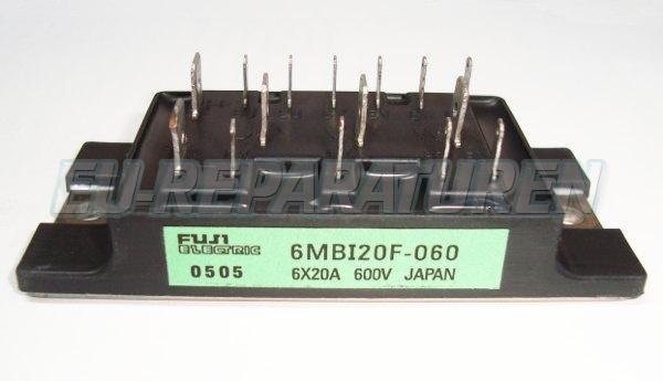 Weiter zum Artikel: FUJI ELECTRIC 6MBI20F-060 IGBT MODULE