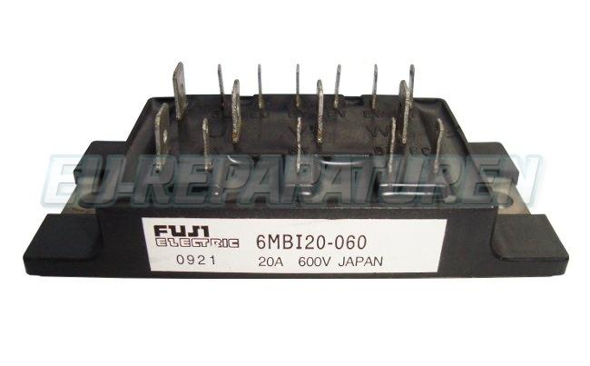 Weiter zum Artikel: FUJI ELECTRIC 6MBI20-060 IGBT MODULE