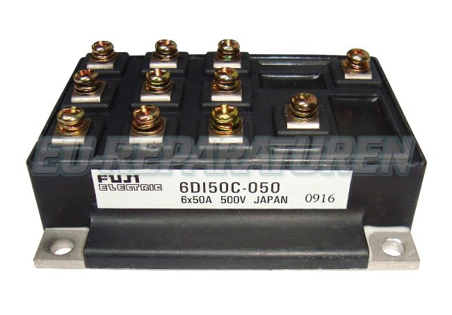 Weiter zum Artikel: FUJI ELECTRIC 6DI50C-050 TRANSISTOR MODULE