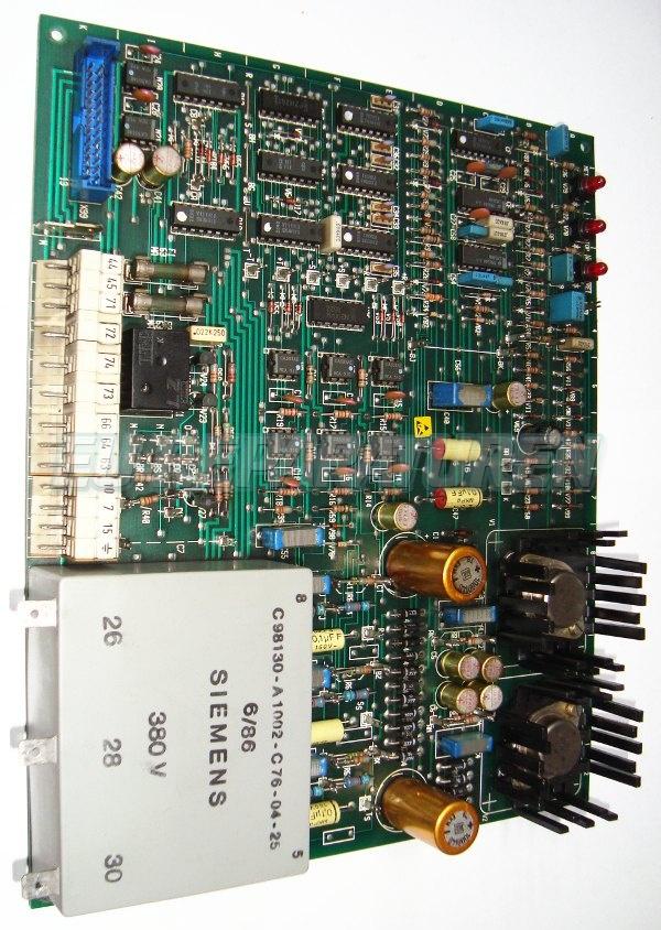 Weiter zum Artikel: SIEMENS C98043-A1045-L3-14 BOARD