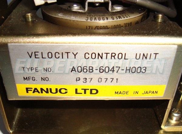 SHOP, Kaufen: FANUC A06B-6047-H003 DC-DRIVE