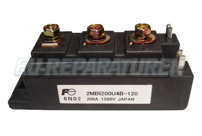 Weiter zum Artikel: FUJI ELECTRIC 2MBI200U4B-120 IGBT MODULE